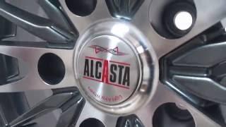 Обзор дисков ALCASTA M02 R16(Обзор выполненного заказа Литые диски Alcasta M02 R16 на японские и корейские автомобили Цена - 3375 руб.