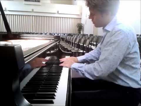 Chopin-Balakirev, Romanza from Concerto Opus 11, played by Bas Verheijden