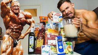 Ich esse 1 Tag lang wie Markus Rühl (mit Thunfisch Proteinshake)
