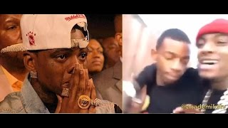 Soulja Boy Gets Confronted in HIS hood on Instagram Live.... Gets Ready to Throw Hands w/ Goon.