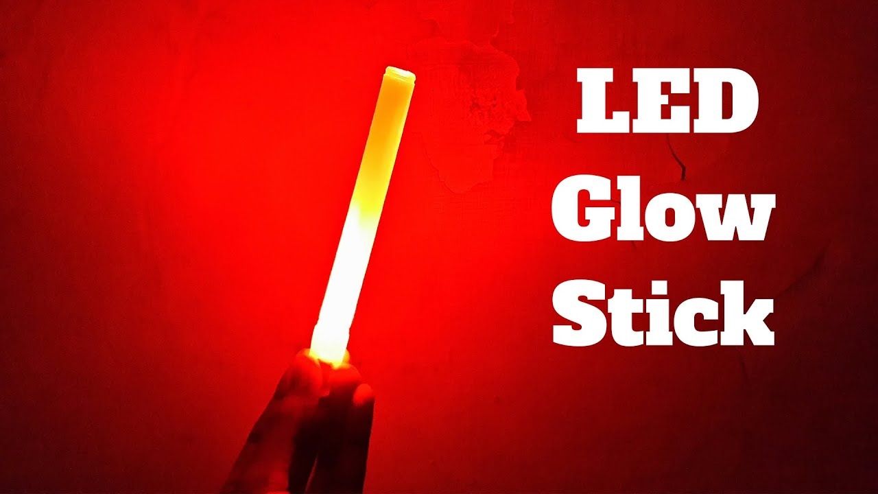 Led Glow Sticks How To Make A Led Glow Stick Diy Party Decorating Ideas