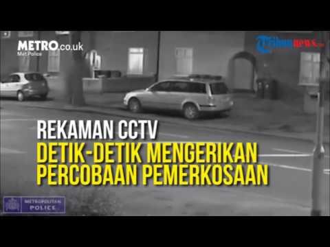 Download Rakaman CCTV Cubaan Rogol Sebaik Turun dari Bas