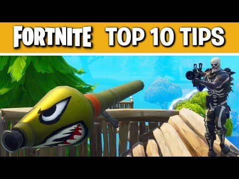 Fortnite Battle Royale Top 10 Situations Tips and Tricks #2