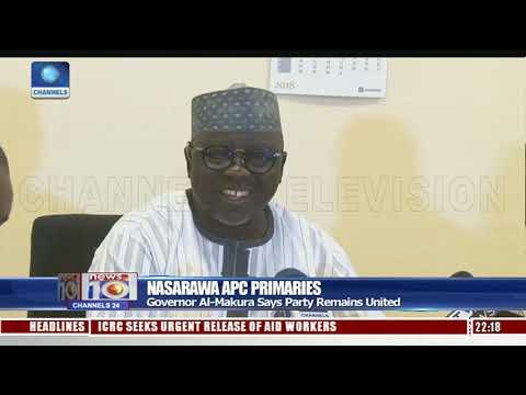 Nasarawa APC Primaries: Governor Al-Makura Says Party Remains United