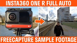 Insta360 ONE R Full Auto Mode 360 Video Sample Footage