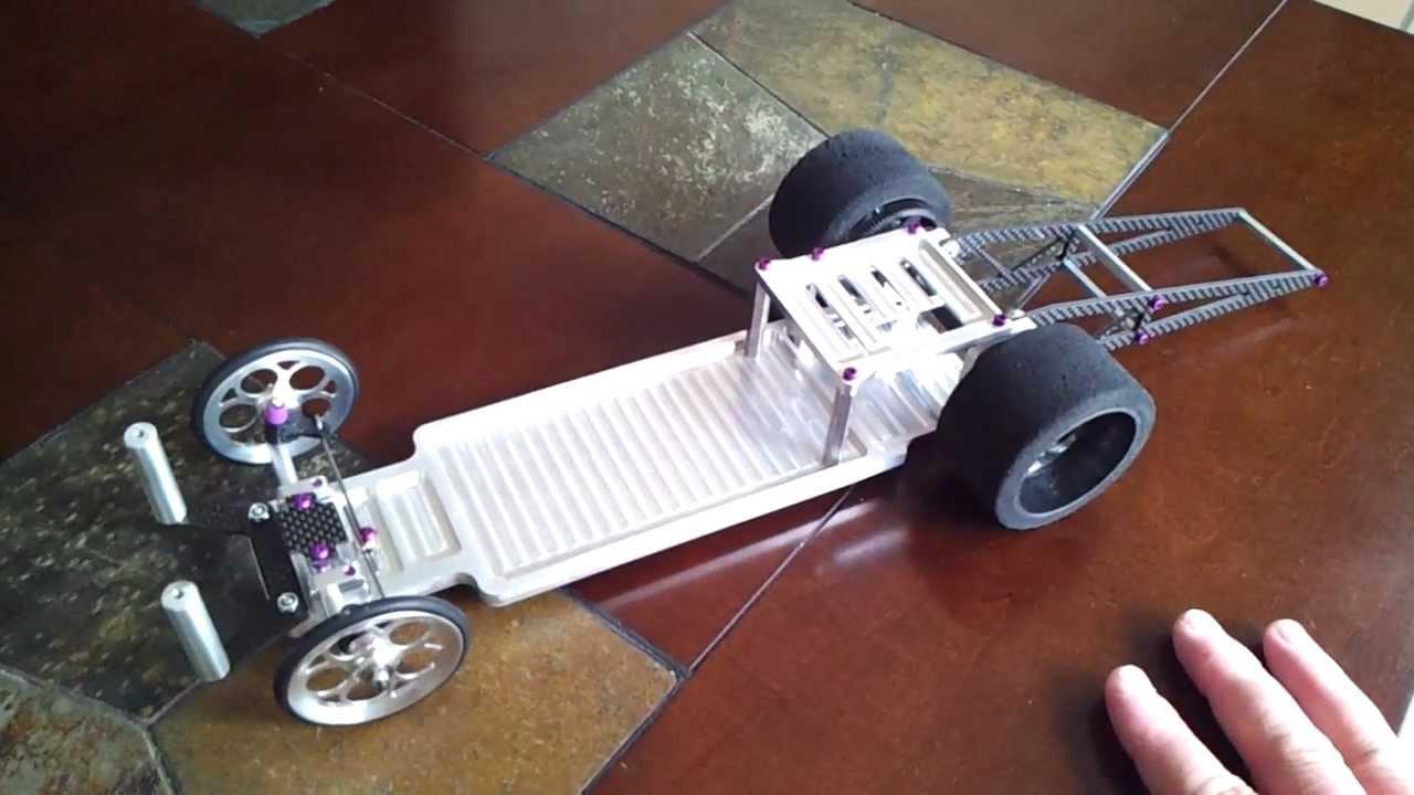 Custom Rc Drag Car 9 Quot My Quot Alumidrag Car Quot Update Youtube