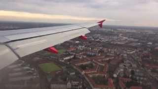 A-320 Airberlin. Москва-Берлин.Moscow-Berlin(13 апреля 2013г утренний рейс в Берлин., 2013-05-05T16:14:39.000Z)
