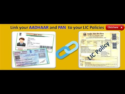 How To Link Aadhar Card To LIC Policy Online