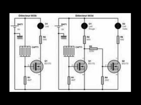 Fabulous schema electronique detecteur de mouvement - YouTube WL61