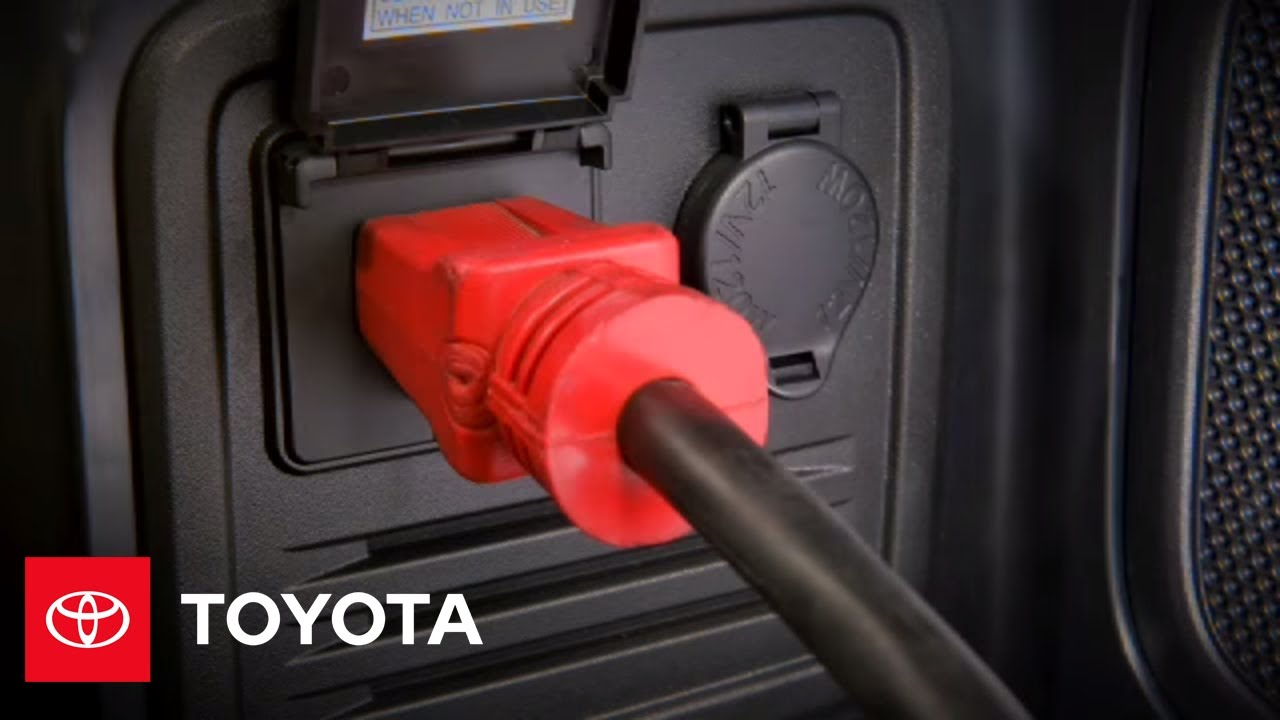 2010 4Runner How-To: AC Power Outlets | Toyota