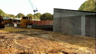 Bridge Construction Process - 3d