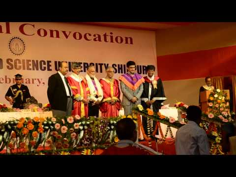 16th Annual Convocation of Bengal Engineering & Science University, Shibpur, 2014 - Part 5