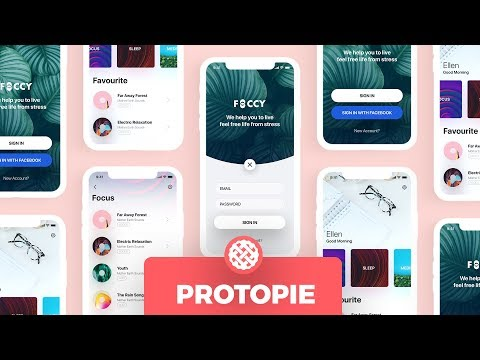 ProtoPie:  Mobile App Design Animation Workflow