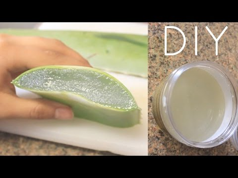 DIY Aloe Vera Juice For Hair, Skin and Health