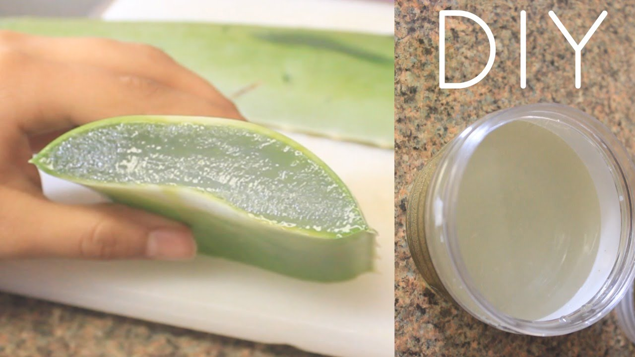 DIY Aloe Vera Juice For Hair, Skin and