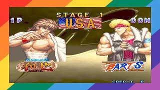 [TAS] [ARCADE] Kaiser Knuckle USA (Arcade) Kazuya (Expert)