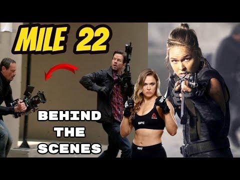 Mile 22 Bloopers, B-Roll, & Behind The Scenes - Mark Wahlberg 2018