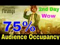 Thugs Of Hindostan 2nd Day Audience Occupancy | Thugs Of Hindostan 2nd DayBox Office Collection