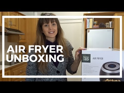 KMART UNBOXING, Home & CO Air Fryer  | AMY JANE
