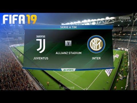 FIFA 19 - Juventus vs. Internazionale @ Allianz Stadium