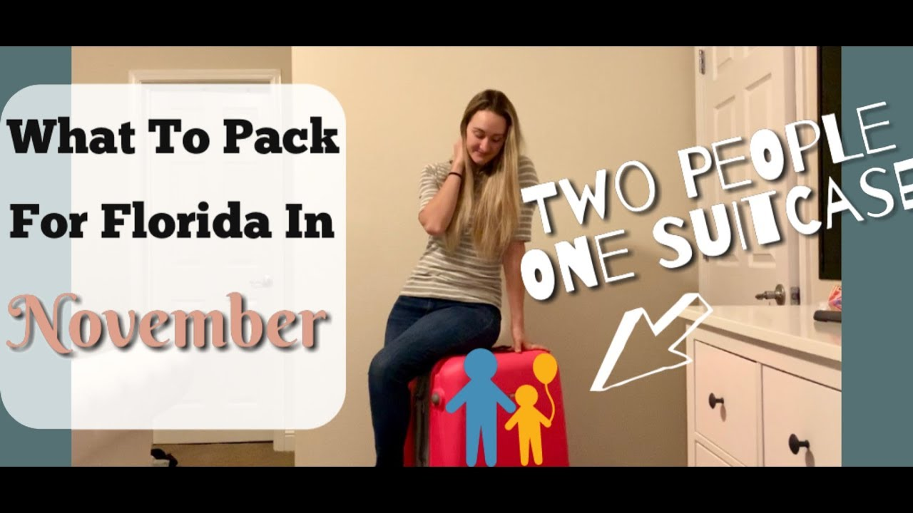 Pack With Me What To Pack For Universal Studios Florida Traveling With A Toddler