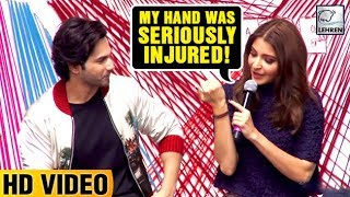 Anushka Sharma INJURED Her Hand While Shooting