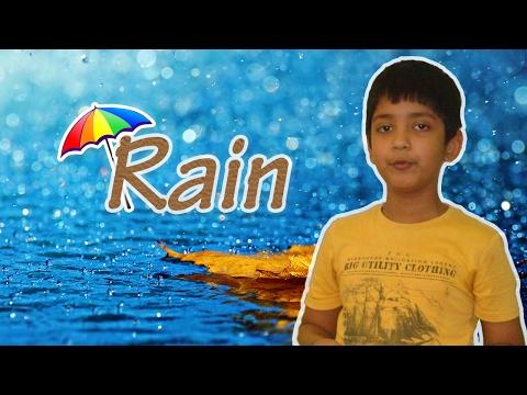 English poem recitation on Rain