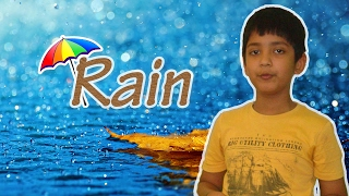 English poem recitation on Rain