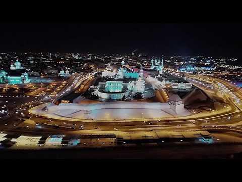 Казань: новогодняя аэросъемка ❄