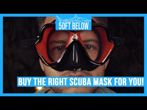 Scuba Advice: How to Buy a Scuba Mask or Snorkel Mask | In 4 easy steps