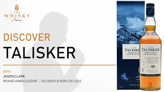 Discover Talisker with World Class & Talisker Brand Ambassador, Jason Clark