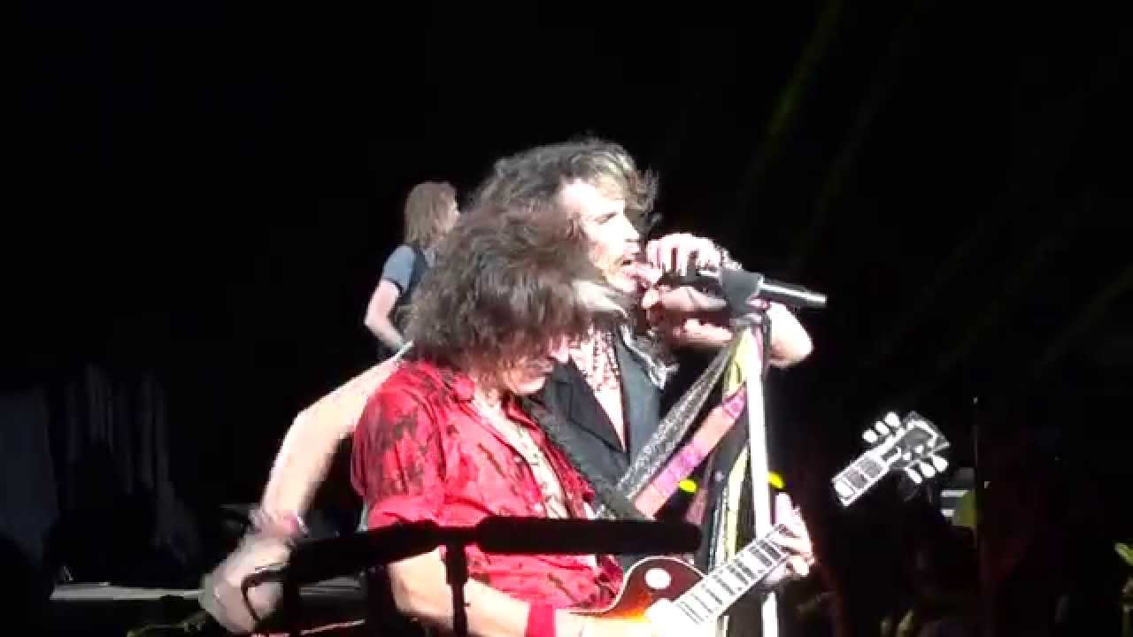 Toys In The Attic Live Aerosmith Tinley Park Chicago