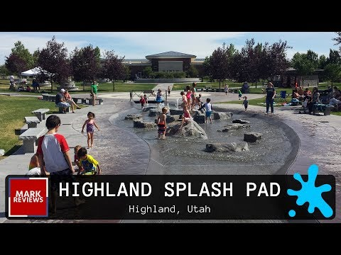 Highland Splash Pad - Review - Highland, Utah