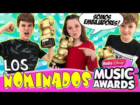 ¡¡DISNEY CHANNEL nos elige como EMBAJADORES de los premios RDMA!! 👑 RETO ¡Adivina los NOMINADOS!