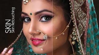 How to Skin Retouching Wedding Photo in Photoshop