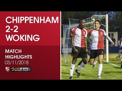 Chippenham Town 2-2 Woking | Match Highlights