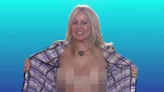 Repeat youtube video HI ELLEN! From the Topless Reporter from Canada