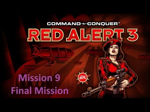 Command & Conquer: Red Alert 3: Empire of the Rising Sun Mission 9 Final mission