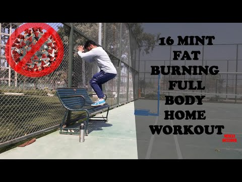 EASILY FAT BURN IN 16 MINUTE  Home workout in HINDI/PUNJABI