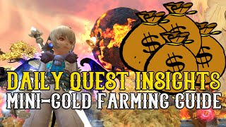 Dragon Nest - Lv80 Mini Gold Farming Guide, Daily Quest Insights & Playthrough ~ !