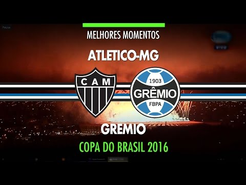 Melhores Momentos - Atlético-MG 1 X 3 Grêmio - Final Copa Do Brasil - 23/11/2016 - Fox Sports HD