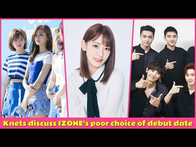 ???? Knets discuss IZONEs poor choice of debut date
