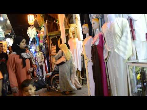 モロッコ・メクネスの旧市街 Meknes,Morocco