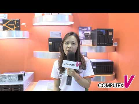 【2016 COMPUTEX TAIPEI】QNAP Systems, Inc. - Network Attached Storage TS-453A