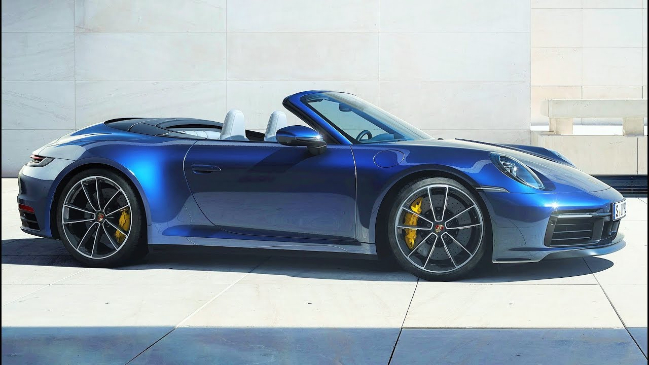 2020 Porsche 911 Carrera 4s Cabriolet More Powerful More Dynamic Youtube