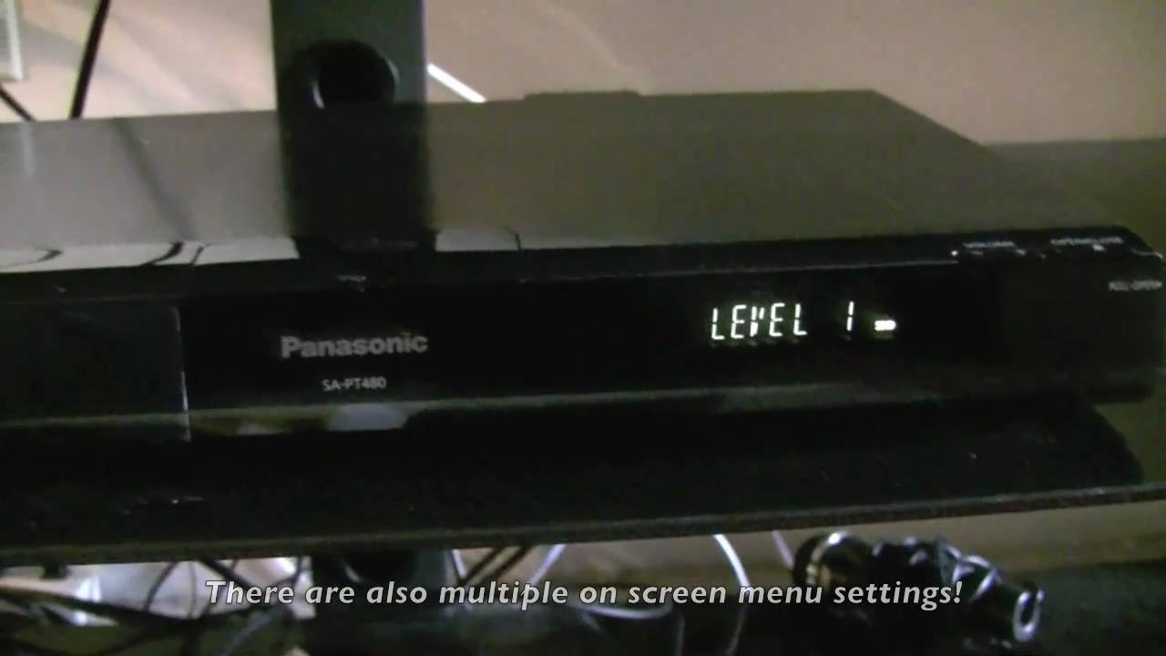 panasonic sc pt480pc k review setup youtube rh youtube com panasonic theatre system manual panasonic theatre system manual