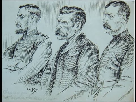 Faces in Court 1893-1918: Drawings of William Hartley from New Scotland Yard's Crime Museum  -