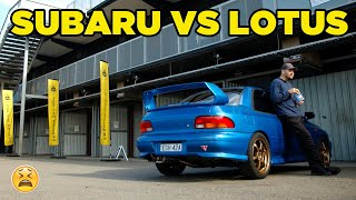 WRX VS Lotus = A very BAD DAY!