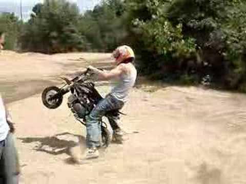 Shoeless Joe Rides An Sdg 107 Speed Mini Dirt Bike Youtube
