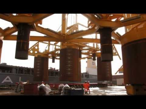 SAL Projects: MV Svenja, Goliat Project - Loading and Discharging Drilling Templates